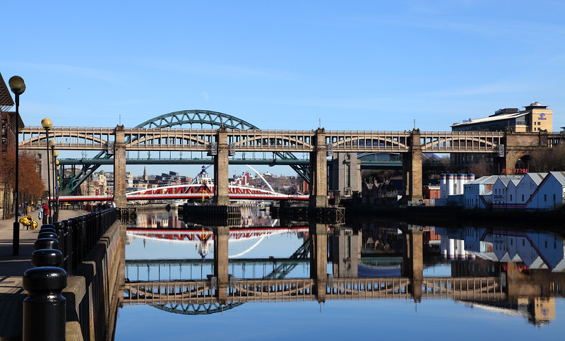 Bridges over The Tyne, Newcastle