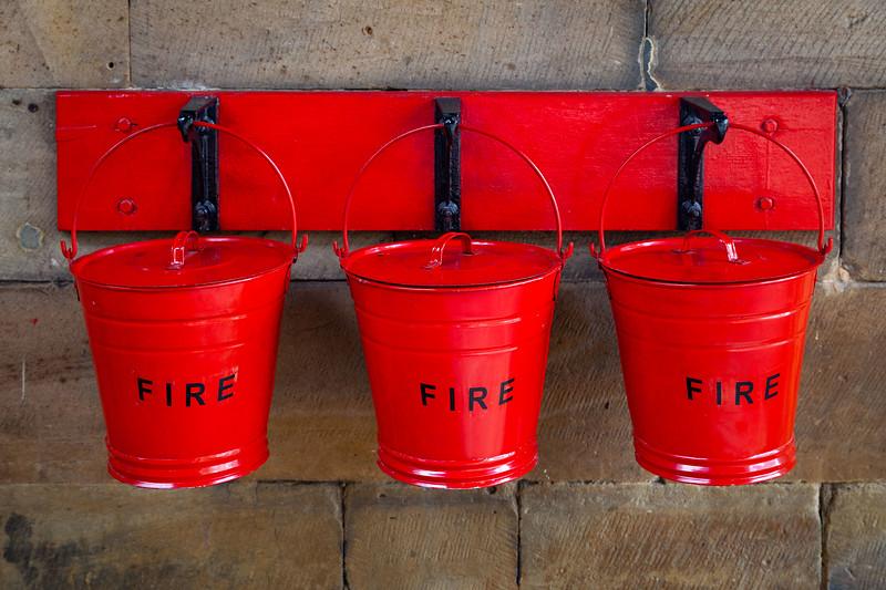 Pickering - Fire Buckets at Pickering station, 5-8-2011 (IMG_3148) 4k