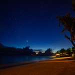 Barbados - Maxwell Beach Star Trail, 22-11-2011 (IMG_5830) 4k