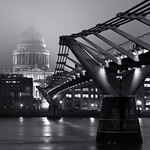 St Paul's Cathedral & Millennium Bridge