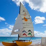 Barbados - Sailing Boat on Maxwell Beach, 22-11-2011 (IMG_5752) 4k