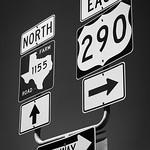 Chappel Hill, Texas - Cross Roads 290 & 1155 sign, 3-10-2011 (IMG_3826) Nik SEP2 - Neutral Blue adj vig 4k