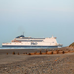 Pride of Hull at Spurn Point