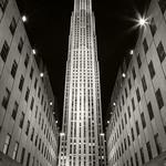Rockefeller Center, 8-10-2011 (IMG_4634) B&W Tone 4k