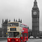 Parliament Red Bus