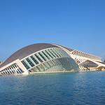 Valencia - IMAX, Museo de las Ciencias Príncipe Felipe, Pont l'Assut de l'Or & Agora, 28-7-2011 (IMG_2800) 4k