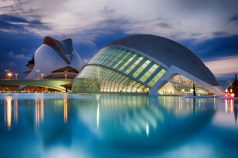 Valencia - IMAX & Palau de les Arts Reina Sofía, 28-7-2011 (IMG_2896) Nik HDR Efex Pro 2 - Deep 1 4k