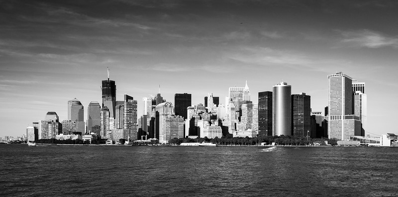 NYC - Lower Manhatten Skyline, 6-10-2011 (IMG_4473) Nik SEP2 - Grad ND -1 4k