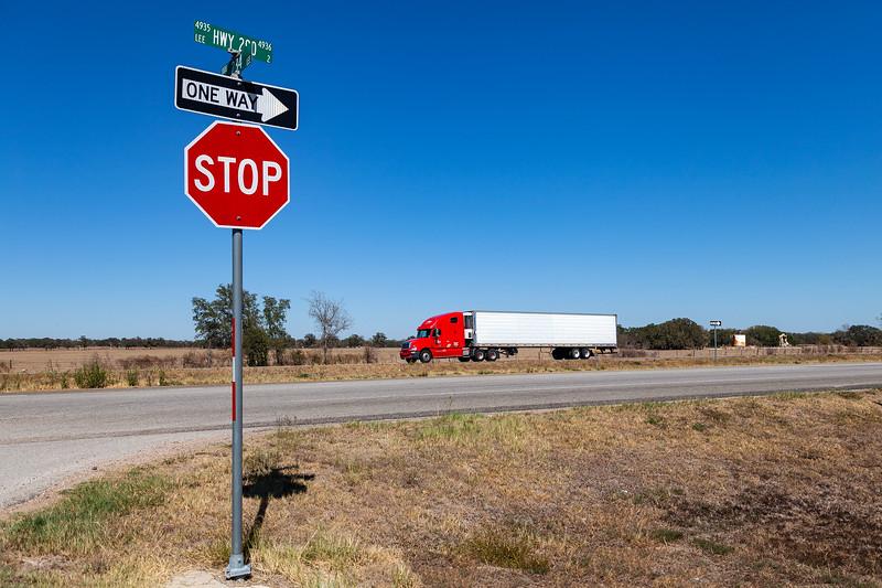 Giddings, Texas - East Austin Street, 290 & 234 Cross Roads, 3-10-2011 (IMG_3858) 4k