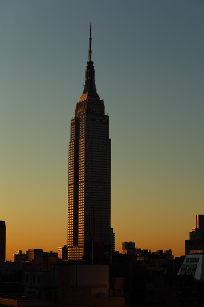 Empire State Building at Sunrise