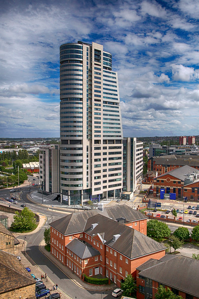 Bridgewater Place from Sky Lounge