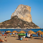 Calpe - Ifac and Playa de Cantal Roig