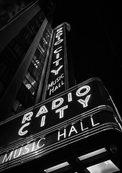NYC - Radio City Music Hall, B&W, 6-10-2011 (IMG_4629) 4k