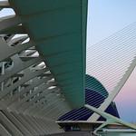 Valencia - Museo de las Ciencias Príncipe Felipe, Pont l'Assut de l'Or & Agora, 28-7-2011 (IMG_2892) 4k