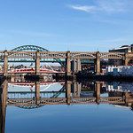 Newcastle Bridges and Quayside