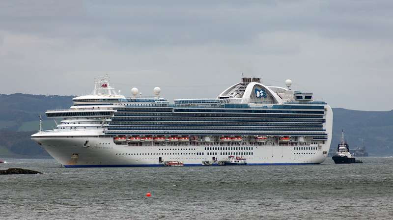 Crown Princess at Queensferry