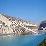 Valencia - Museo de las Ciencias Príncipe Felipe, Pont l'Assut de l'Or & Agora, 28-7-2011 (IMG_2808) 4k