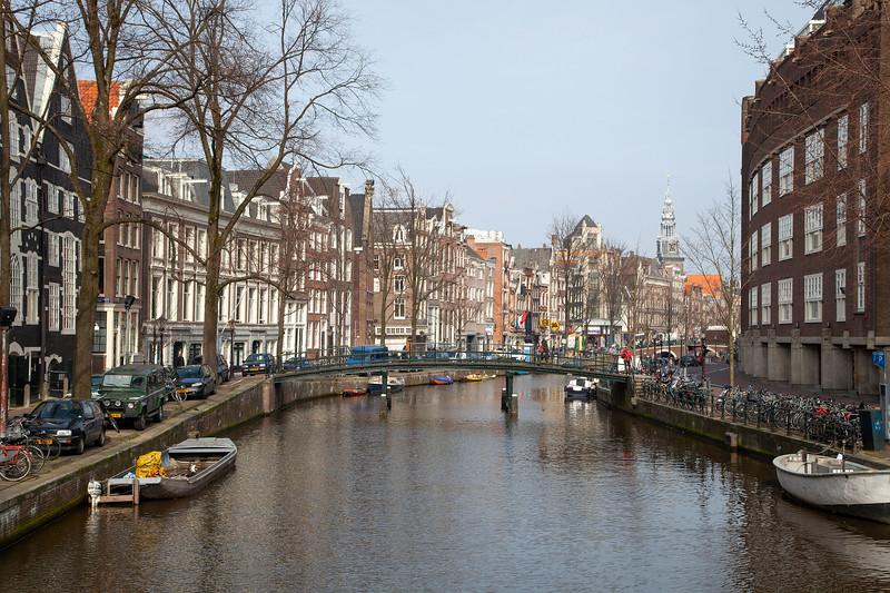 Amsterdam - Oudezijds Voorburgwal with Lommertbrug