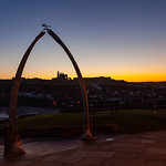 Whitby - Whale Bone at Dawn, 23-1-2012 (IMG_6504) 4k