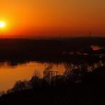 Fairburn Ings Sunset