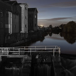 Castleford - River Aire, beside Allinson's Flour Mill, 27-10-2012 (IMG_0376) 4k