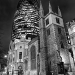 Leadenhall Street & The Gherkin, 21-2-2012 (IMG_6908) Nik SEP High Structure Smooth 4k