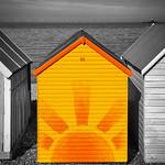 Herne Bay Sunny Beach Hut, 4-9-2012 (IMG_9720) Mix 4k
