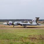 XH558 at Doncaster Airport