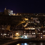 Whitby Waterfront at Night, 21-1-2012 (IMG_6454) 4k