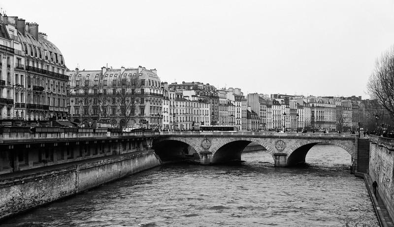 Pont Saint-Michel, Notre Dame, Paris