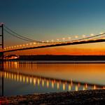 Humber Bridge (Dusk), 10-11-2013 (IMG_6992) 4k