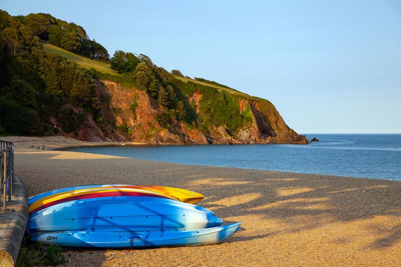 Blackpool Beach, Devon, Kayaks, 25-6-2013 (IMG_3574) 4k