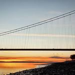 Humber Bridge Sunset, 10-11-2013 (IMG_6932) LR Nik CEP4 - Dynamic High Key 1 - 4k
