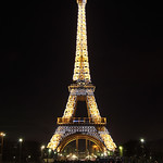 Eiffel Tower, Hourly Sparkle lights