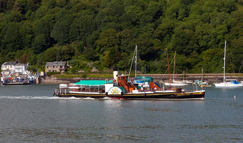 Dartmouth - Kingswear Castle on River Dart, 25-6-2013 (IMG_3512) 4k