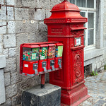 Durbuy - Post Box & Bubble Gum Machine, 26-8-2013 (IMG_5595) 4k