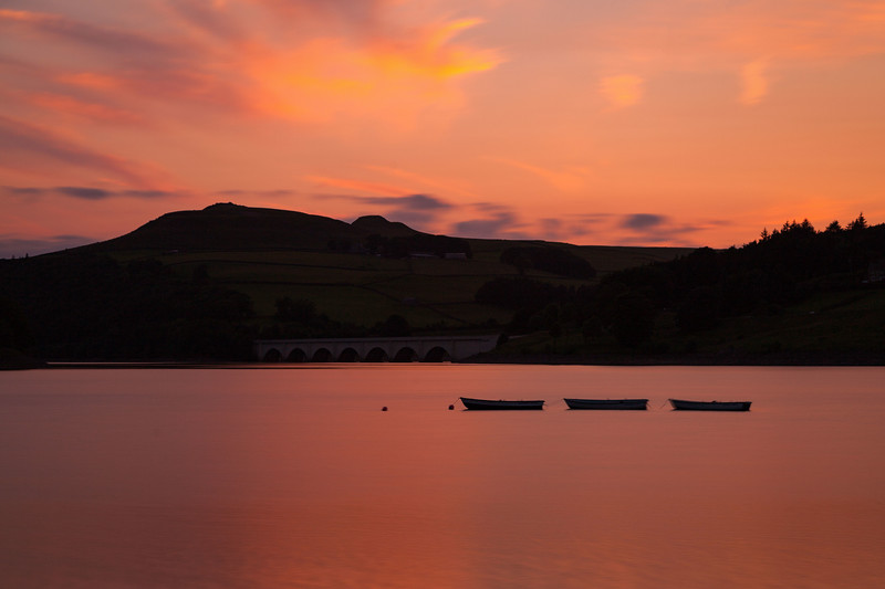 Sunset at Ladybower