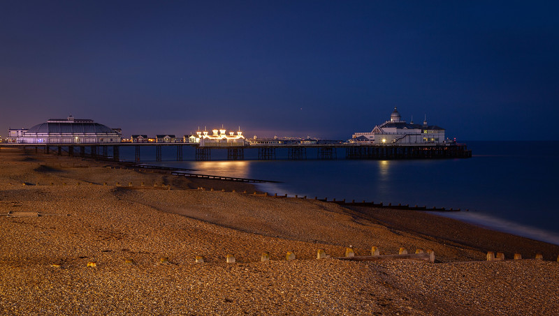 Eastbourne Pier at Night, 19-3-2013 (IMG_2088) 4k