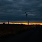 Lissett - Wind Farm (Black Sky), 10-8-2013 (IMG_5005) 4k