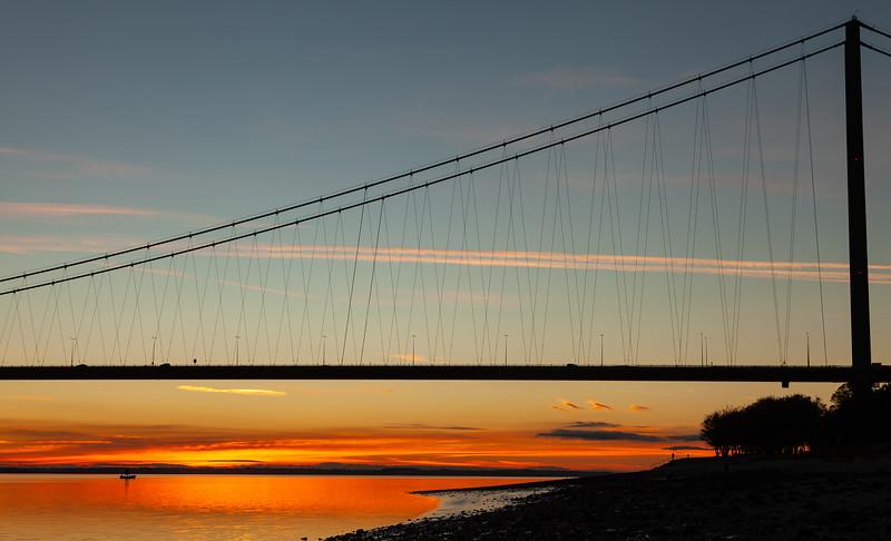 Humber Bridge Sunset, 10-11-2013 (IMG_6932) LR 4k