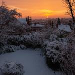 Pontefract - Sunrise over Carleton Glen, 22-1-2013 (IMG_1296) 4k