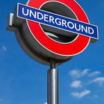 Kings Cross - Underground Sign in sun, 15-5-2014 (IMG_9929) 4k