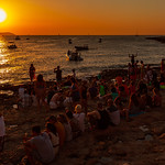 Ibiza - Cafe Del Mar Beach Sunset, 28-8-2014 (IMG_7213) 4k