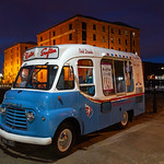 Liverpool - Commer Ice Cream Van at Albert Dock, 27-9-2014 (IMG_7611) 4k