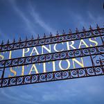 St Pancras Station Metal Sign, 17-6-2014 (IMG_0800) 4k