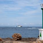 Ibiza - Jaume III approaching San Antonio Port, 30-8-2014 (IMG_7334) 4k
