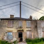 'Forgotten' - House & Humber Bridge HDR