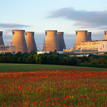 Ferrybridge Power Station & Poppy Field, 16-6-2014 (IMG_0735) 4k