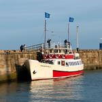 Yorkshire Belle at Bridlington Harbour