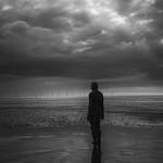 Gormley Man, Crosby Beach, 26-5-2014 (IMG_0262) Nik SEP2 - Full Dynamic Smooth - 4k